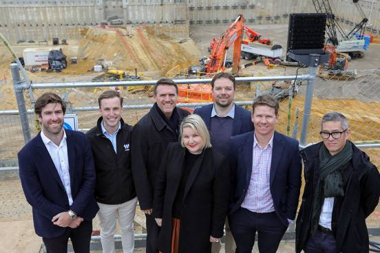 Adelaide Festival Square commences construction