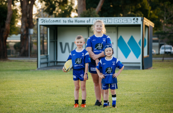 Appin Dogs' juniors geared up for footy