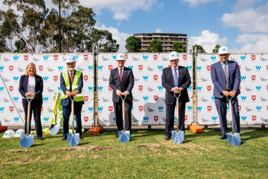 First Sods Turned on Vertical Campus in the Bankstown CBD